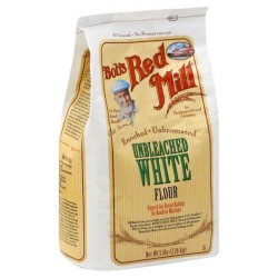Bob's Red Mill Flour Unbleached White Pastry, 5-pounds