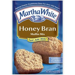 Martha White Muffin Mix Honey Bran 7.4 oz.
