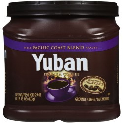Yuban Coffee, Pacific Coast Blend, 29-Ounce