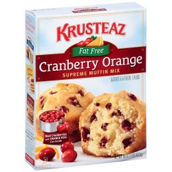 Krusteaz Cranberry Orange Supreme Muffin Mix Fat Free