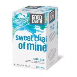 Good Earth Sweet Chai of Mine Chai Tea, 18 Tea bags (Pack of 3)