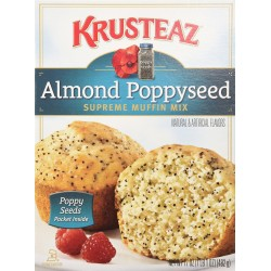Krusteaz, Almond Poppyseed Supreme Muffin Mix, 17 oz Box